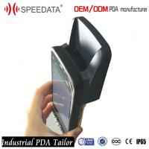 Cordless Phone Industrial Handheld UHF RFID Reader Long Range Reading Distance 2-5 Meters Manufactures