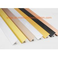 China Polished Silver Ceramic Floor Tile Stair Edge TrimT Shaped Chrome Beading For Floors on sale