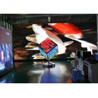 Quality Cube Shape Square LED Screen , Custom Shaped LED Screen Front Service for sale