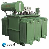 20kV - Class Low Noise Oil Immersed Power Transformer Anti - Short Circuit