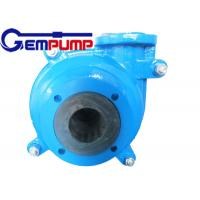 High Chrome 4/3D-Ah OEM Water Pumps / Chemical Industry pump Manufactures