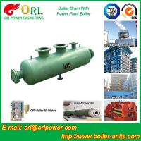 Coal Fired CFB Boiler Drum High Strength , Water Tube Boiler Drum 100 T Manufactures