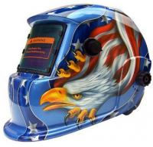 China Adjustment Solar Lightweight Auto Darkening Welding Helmet / Mask on sale