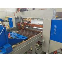Stair Tread Steel Grating Welding Machine With Max 1200mm Width Manufactures