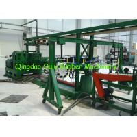 Customized Rubber Extruder Machine , Vented Cold Feed Extruder 20/1 L/D Ratio Manufactures