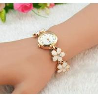 Ladies Bracelet  Daisy Shped Chain Flower Womens Dress Watch Quartz Analog Manufactures