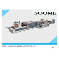High Speed Automatic Box Stitching Machine Electric For Corrugated Paper Box Manufactures