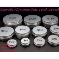 Quality 50ml hair wax Aluminum Cap box  with screw cap 200ml for sale