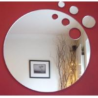 Custom Shape Mirror Acrylic Sheet With Holes For Home Decorative Manufactures