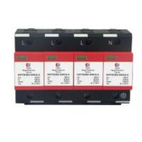 China 35MM Guide Rail Way Install Of Three phase ac surge protector 380v on sale