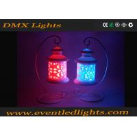 Wedding Decorative Red / Blue flameless candles with remote And Battery Manufactures
