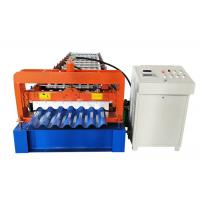 Quality trapezoidal colour coated sheet profile sheet metal roll forming machine price for sale