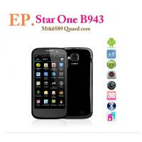 China 4.5 Star One B943 Quad Core phone MTK6589 IPS 1GB  4GB Dual Camera12MP  GPS on sale
