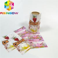 Custom Printing Shrink Sleeve Labels Plastic PET/PVC Material Glossy Lamination Surface Manufactures