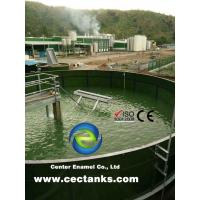 Excellent Corrosion Protection Glass Lined Water Storage Tanks With AWWA Standard Manufactures