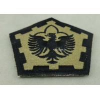 The Pentagon Clothes Patches Badges , Custom Embroidery Patches With Velcro Manufactures