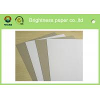 Grade AA Recycled Grey Back Duplex Board For Packaging Commodity Manufactures