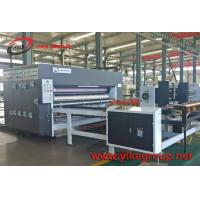 China Auto Feeder Chain Feeder 2 Color Printer Slotter Machine From YIKE GROUP on sale