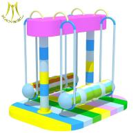 China Hansel  electric indoor soft play equipment indoor playground soft swing boxing on sale