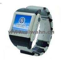 China Real Quad-Band Stainless Steel Waterproof Watch Mobile Phone (AW-600) on sale