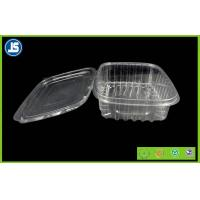 Salad Clear Plastic Food Packaging Trays / thermoformed plastic trays Manufactures