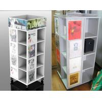Eco Friendly Wooden Display Stand , White T-shirt Display Rack Manufactures