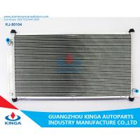 Auto Parts Aluminum AC Condenser For Toyota Grj150 A / C Cooler In Aluminum Brazed Manufactures