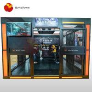 2 Players VR Walking Simulator 360 Vision Virtual Reality Game Machine Manufactures