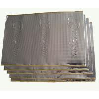 0.1mm Black Butyl Sound Proof Pads Aluminium Foil For Heat Insulation Manufactures