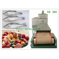 Microwave Food Thawing Machine For Frozen Fish Meat Seafood Manufactures