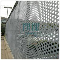 Anping professional factory export Perforated metal for security compound, security fence for sale