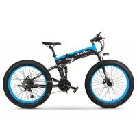 T750 Fat Tire Electric Bike Spoke Wheel For Snow 13AH L G Lithium Battery Manufactures