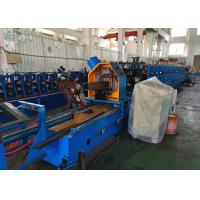 China 2.5mm Thick Heavy Duty Rack Roll Forming Machine With Gear Box Transmission on sale