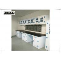 PP Structure Anti Corrosive Lab Work Benches With Reagent Shelf Manufactures