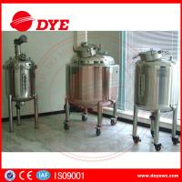 DYE Steam Heating Stainless Steel Water Tanks Alcohol Yoghurt Manufactures