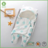 Promotional Gift Soft Coral Fleece Baby Swaddle Blanket With Many Colors Manufactures