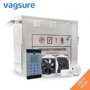 China Powerful Steam Room Machine , Steam Room Generator With Auto Drain Valve on sale