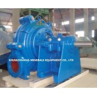 China 6 Inch AH Slurry Pump for Heavy Duty Sludge Slurry and Sand used in Mining and Minerals Industry on sale