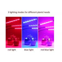 China LED Three - Tube Grow Lights For Indoor Plants , Cycle Timing Full Spectrum Grow Lights on sale