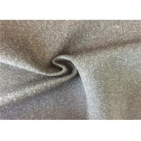 Modern Designer Wool Blend Coat Fabric , Wool Fabric 600g/M Manufactures