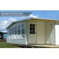 Beautiful Light steel Structure House / Portable Modular Homes for sea beach house Manufactures