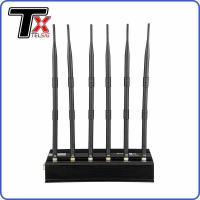 8 Channel 40W High Power Mobile Phone Jammer For 5 - 20m Indoor Omni Directional Manufactures