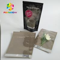 Clear Window Stand Up Pouch Bags For Food / Candy / Coffee 10000 MOQ Manufactures