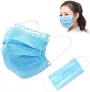 Disposable Gauze 10PCS FDA Earloop 3 Ply Face Mask Manufactures