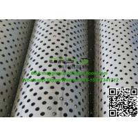 API J55 casing perforated pipes with unfiorm and smooth holes China factory Manufactures