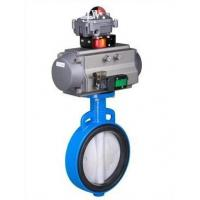 WCA WCB WCC Wafer Type Connection Butterfly Valve with Electric Actuator Manufactures
