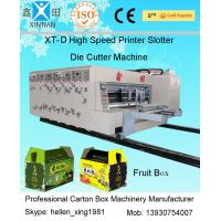 High Precision Auto Carton Packing Machine For Printing Packaging 7.2mm Thicknes Manufactures