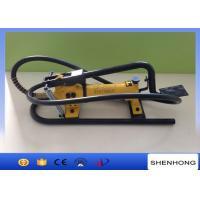 China CFP - 800 Hydrauic Foot Pump Used In Overhead Line Construction on sale