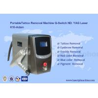 Portable Q - Switch Laser Tattoo Removal Machine Powerful 500-1000V Manufactures