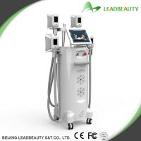 Manufacturer China!Cryolipolysis body shaping device with 12 inch LCD screen and 4 handles Manufactures
